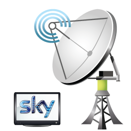 Satellite dish-Sky-installers