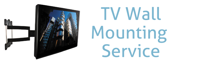 TV wall mounting service banner