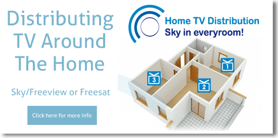 distribute tv around the home